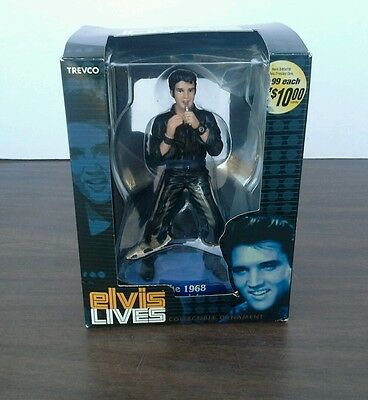 Elvis Presley Trevco Collectible Ornament THE 1968 TV SPECIAL New In Box