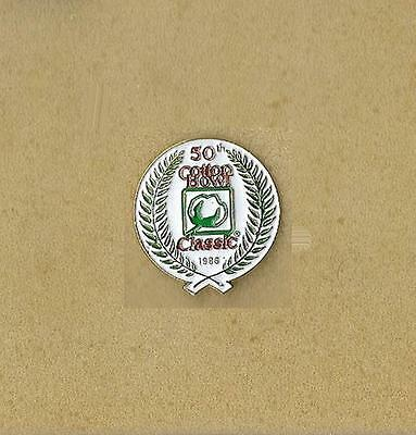 Ncaa Cotton Bowl Classic 1986 College Football Final Dallas, Tx Official Pin Old