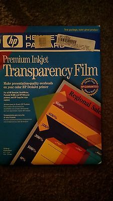 HP Premium inkjet transparency film 50 sheets C3834A