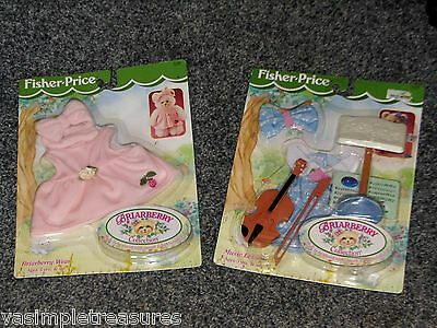 Briarberry Bear Collection Lot of 2 Music Lesson Accessory & Wear 1998 Kit