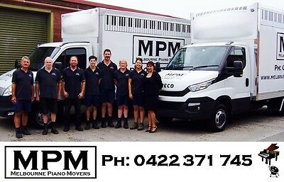 Professional Piano Movers - FROM $160. Melbourne. Upright, Grand...