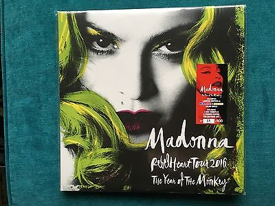 """Madonna """"The Year Of The Monkey"""" Rebel Heart Tour 3-LP Limited Edition"""