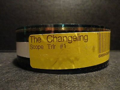 THE CHANGELING  35mm movie trailer T#1  film collectible  SCOPE 2min30