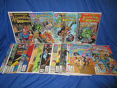 Adventures in the DC Universe #1-19 + Annual VF to NM Complete Series Set