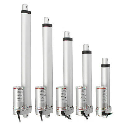 [NEW] 1500N 12V 4/6/8/10/12 inch Linear Actuator Adjustable Actuator Tor Opener