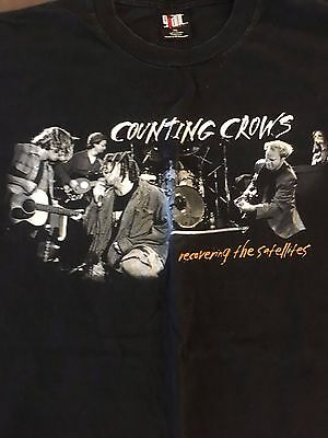 Counting Crows Recovering The Satellites Original T-Shirt Xl