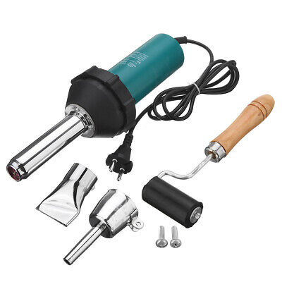 [NEW] 1080W Plastic Hot Air Welding Welder Heat Hot Gas Tools Kit with Rod Roll