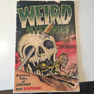 Weird Mysteries #4(Classic Skull Cover)