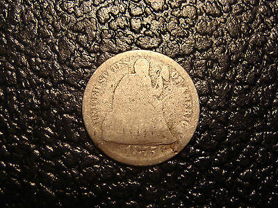 1875 Seated Liberty Dime WE COMBINE ON SHIPPING