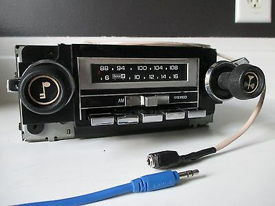 Chevy GM AM/FM 8track Delco radio with aux input for mid 70s/early 80s car/truck