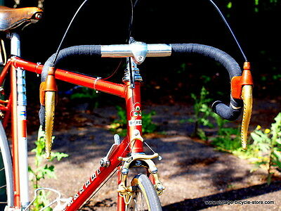 Barelli from 1975 Shimano Dura Ace Campagnolo Steel Vintage Bicycle Mafac Brooks