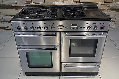 Rangemaster Toledo 110Cm All Dual Fuel Range Cooker In Stainless Steel