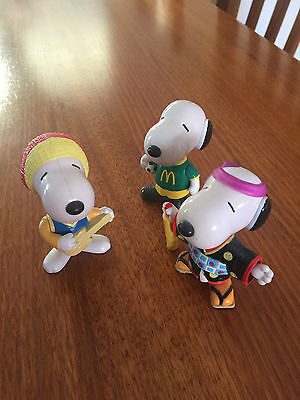 Snoopy McDonald's Vintage 1999 Collectable Toys