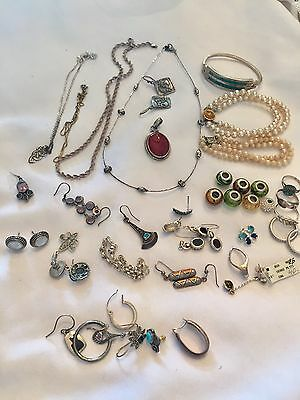 Sterling Silver 925 Jewelry LOT 175 Grams