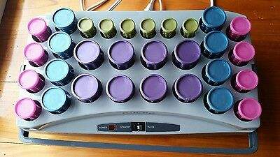 BaByliss pro hot rollers culer 30 pc set with hair clips