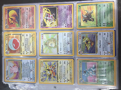 Pokemon Cards Jungle Set Complete - most are 1st edition N/Mint to Mint.