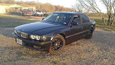 2001 BMW 7-Series  2001 bmw 740i, NO RESERVE great condition