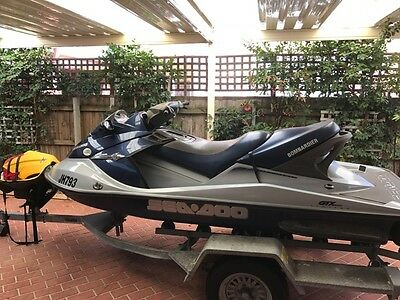 SeaDoo Jetski and trailer