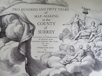 Antique Ireland Map Collection VTG Facsimile by Harry Margary County Surrey LOT