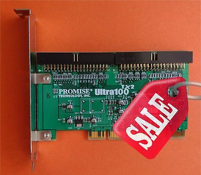Promise TX2 ULTRA100 V2.0 LOCAL BUS TLA-0B-0A-WK-W2-00-00 PCI CARD *SALE