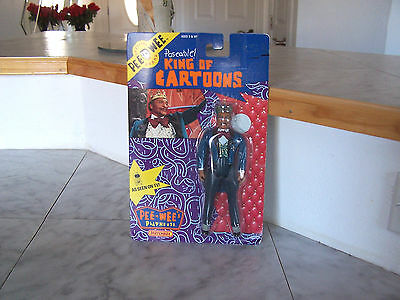 1988 PEE WEE Matchbox Poseable KING OF CARTOONS  (NEW)