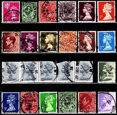 Very Nice Great Britain SON Cancel stamps Collections lot (used)