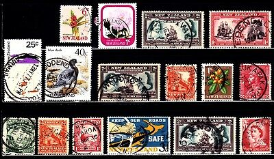 Very Nice New Zealand SON Cancel stamps Collections lot (used)