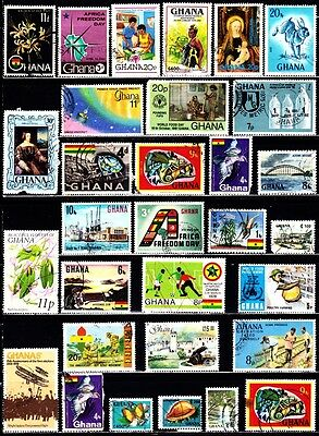 Very Nice Ghana Stamps Collections lot (used)