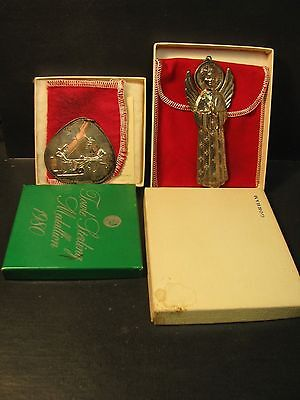 Vintage Gorham & Towle Sterling Silver Christmas Ornaments