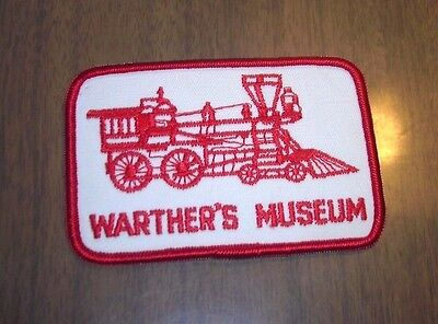 Warther's Museum - Dover, Ohio - Woodcarving - Souvenir Patch