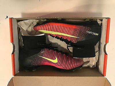 NIKE MERCURIAL SUPERFLY V FG Size 7.5US Football Boots