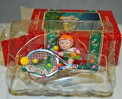 "Enesco Treasury ""Serving Up The Best"" Retired Christma Ornament Sport Series"
