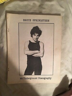 Bruce Springsteen: An Underground Discography