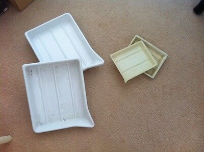 Photography plastic developing chemical trays