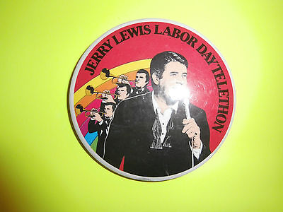 Jerry Lewis Labor Day Telethon Button