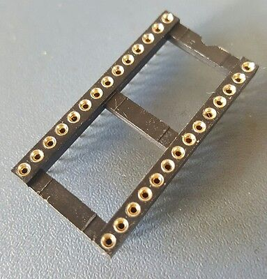 5pcs 28pin High Quality Gold pin DIP IC sockets suitable for 27C type EPROM's
