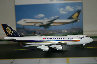 Dragon Wings 1:400 Singapore Airlines Cargo Boeing 747-400F 9V-SFD (55226)