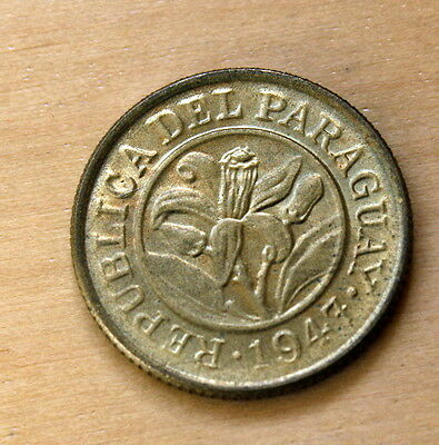 1947 Paraguay 10 Centimos