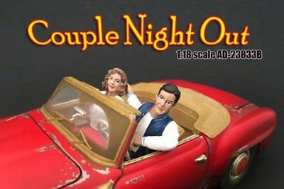 Couples Night Out Set of 2 figures - American Diorama 23833 1/18 Scale Figurine