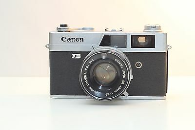Canonet QL19 35mm Film Camera. (Working Good Condition)