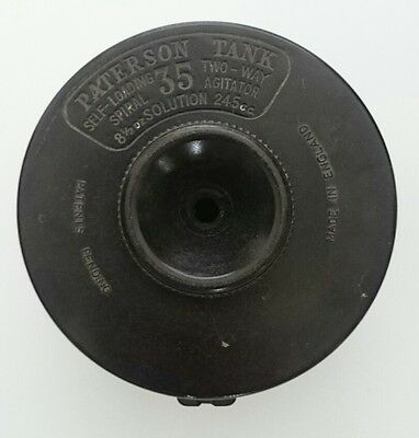 VIntage Paterson Tank, Agitator with self loading spiral 35