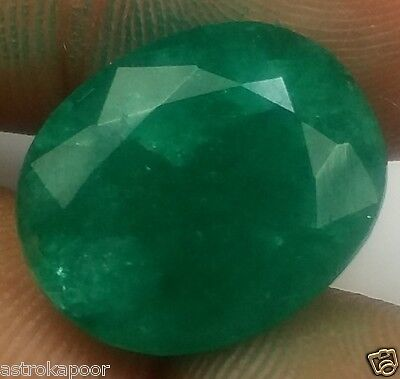 8.79 CT Colombian Emerald Natural GIE Certified Best Quality Beautiful Gem