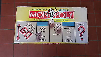 Monopoly  Australian Edition Board Game Parker Brothers 1996