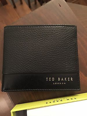 NEW WITH TAG AND BOX TED BAKER Wallet Bifold leather
