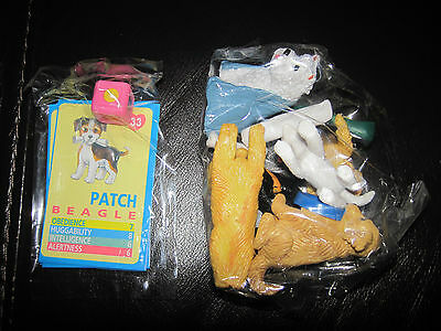 Puppy In My Pocket Vintage Set Of 6 From 1994 New Patch