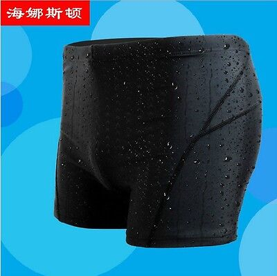 OZ Men's Boy Swimming Trunk Pants Fast Dry Shorts Sharkskin Slim Beach Swimwear