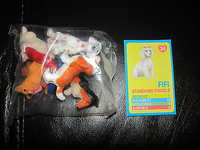 Puppy In My Pocket Vintage Set Of 6 From 1994 New Fifi