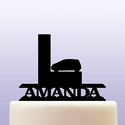 Personalised Acrylic Learner Driver Cake Topper Decoration
