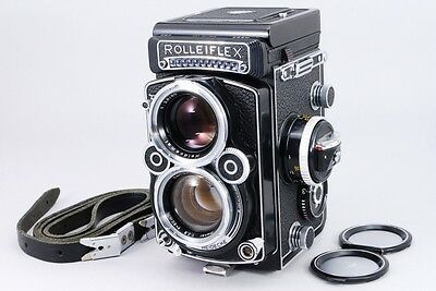【NEAR MINT+++ OH completed】 Rolleiflex 2.8 F TLR + Planar 80mm F/2.8  From Japan