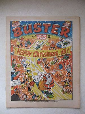 Buster & Monster Fun 31st December,1977.Christmas,xmas. Full cond.report